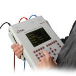 Анализатор SFRA45 оснащен встроенными аккумуляторами, которые обеспечивают автономную работу прибора до 3 часов