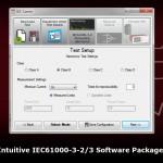 Программное обеспечение IECSoft обладает удобным интерфейсом пользователя для простой интерпретации результатов испытаний по МЭК61000